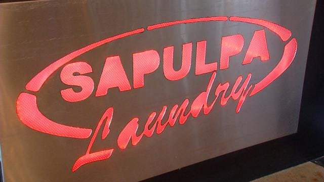 Sapulpa Solar-Powered Laundry Picking Up Steam