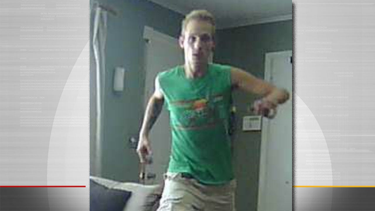 Police Want Name Of Tulsa Burglar Caught On Camera