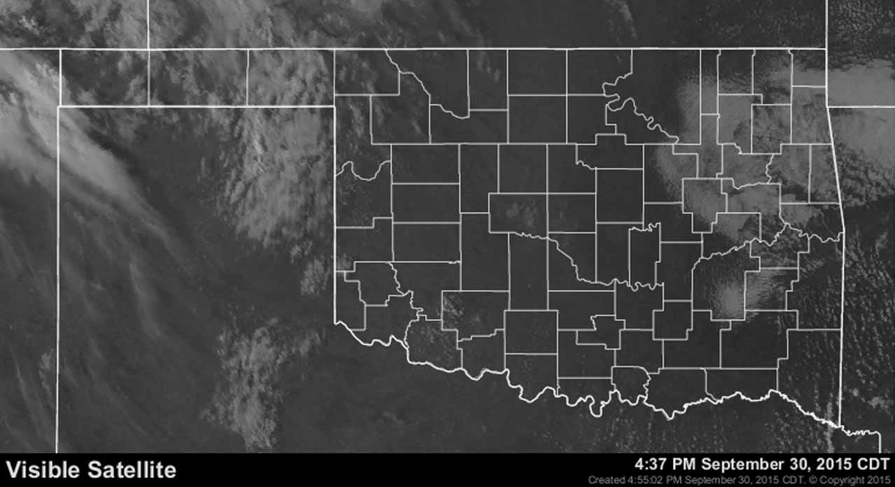 Dick Faurot's Weather Blog: Cooler Through The Weekend