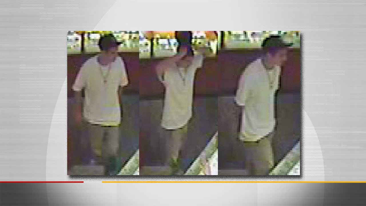 Police Look For Tulsa Diamond Ring Thief