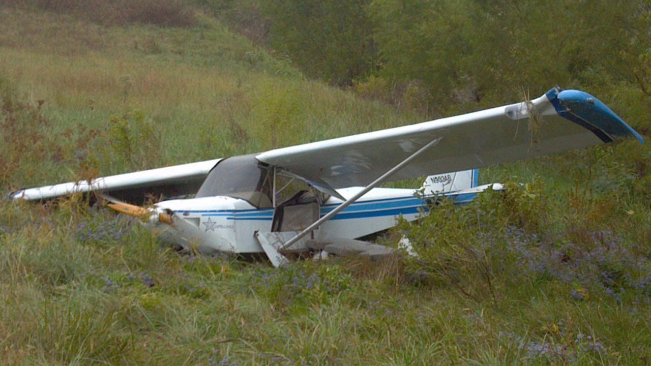 Small Plane Crashes At Bartlesville Airport