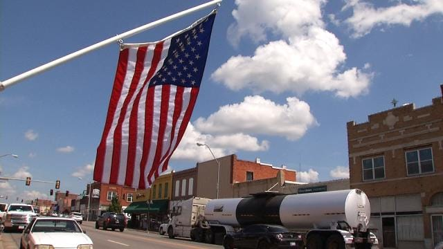 Veterans Angry After U.S. Flags Stolen From Bristow's Historic Main Street