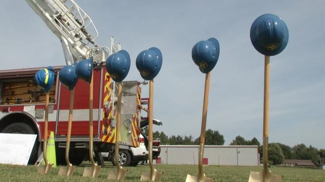 Berryhill Fire Department Breaks Ground On Brand-New Station