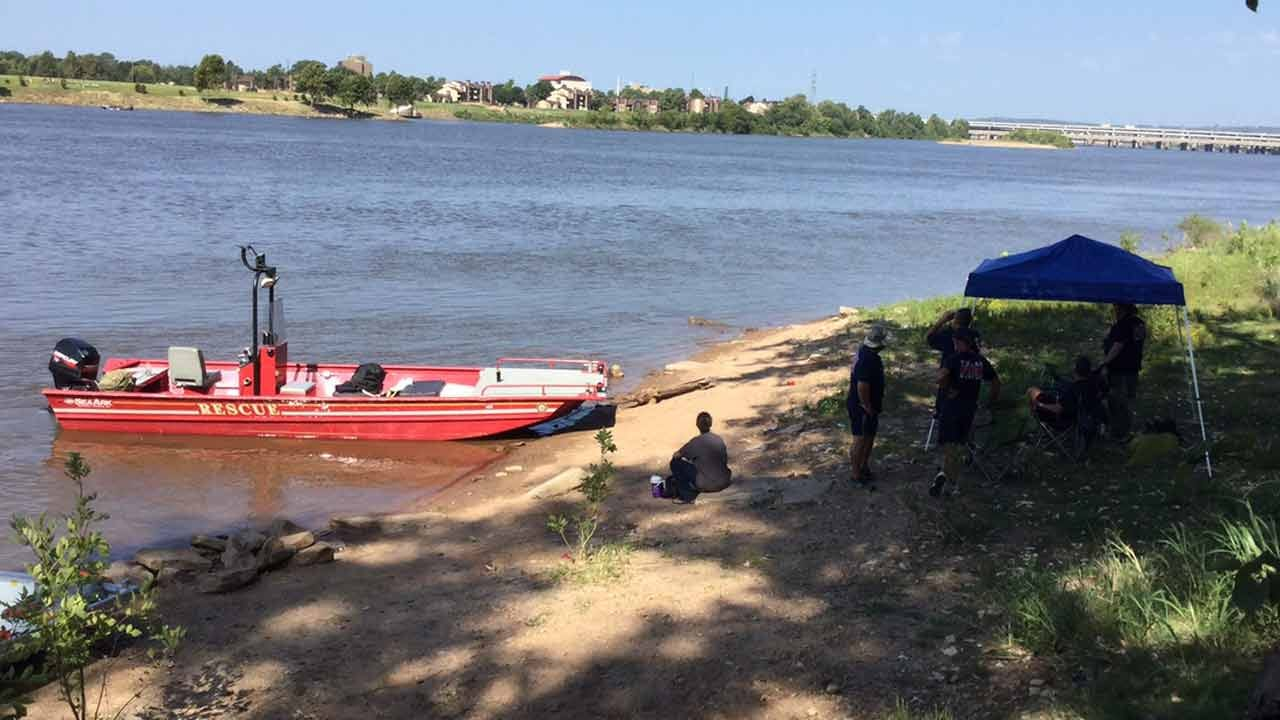First Responders Ready For Action In Tulsa Great Raft Race