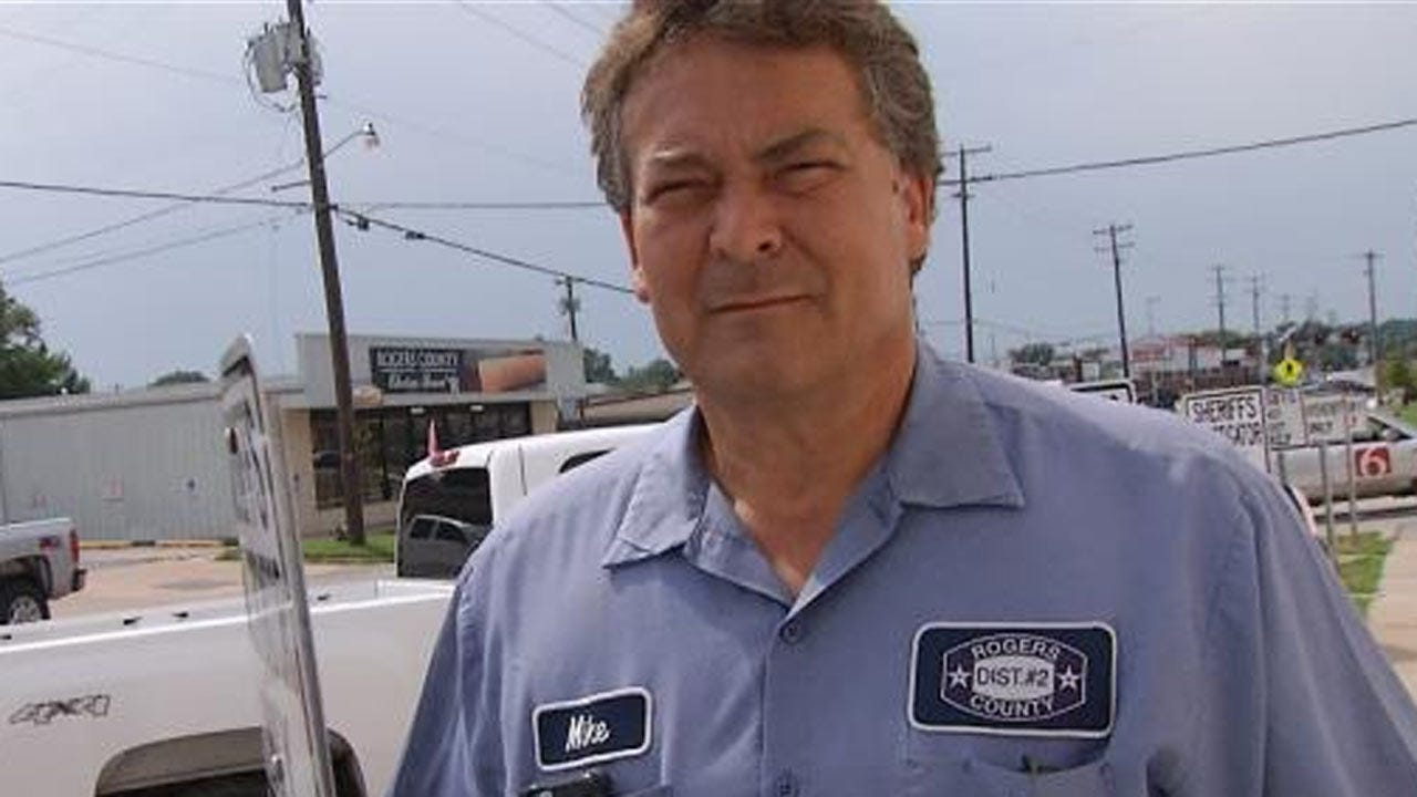 Rogers County Commissioner Mike Helm Suspended From Office