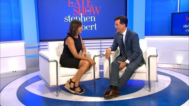 Terry Hood Finds The Oklahoman In Stephen Colbert