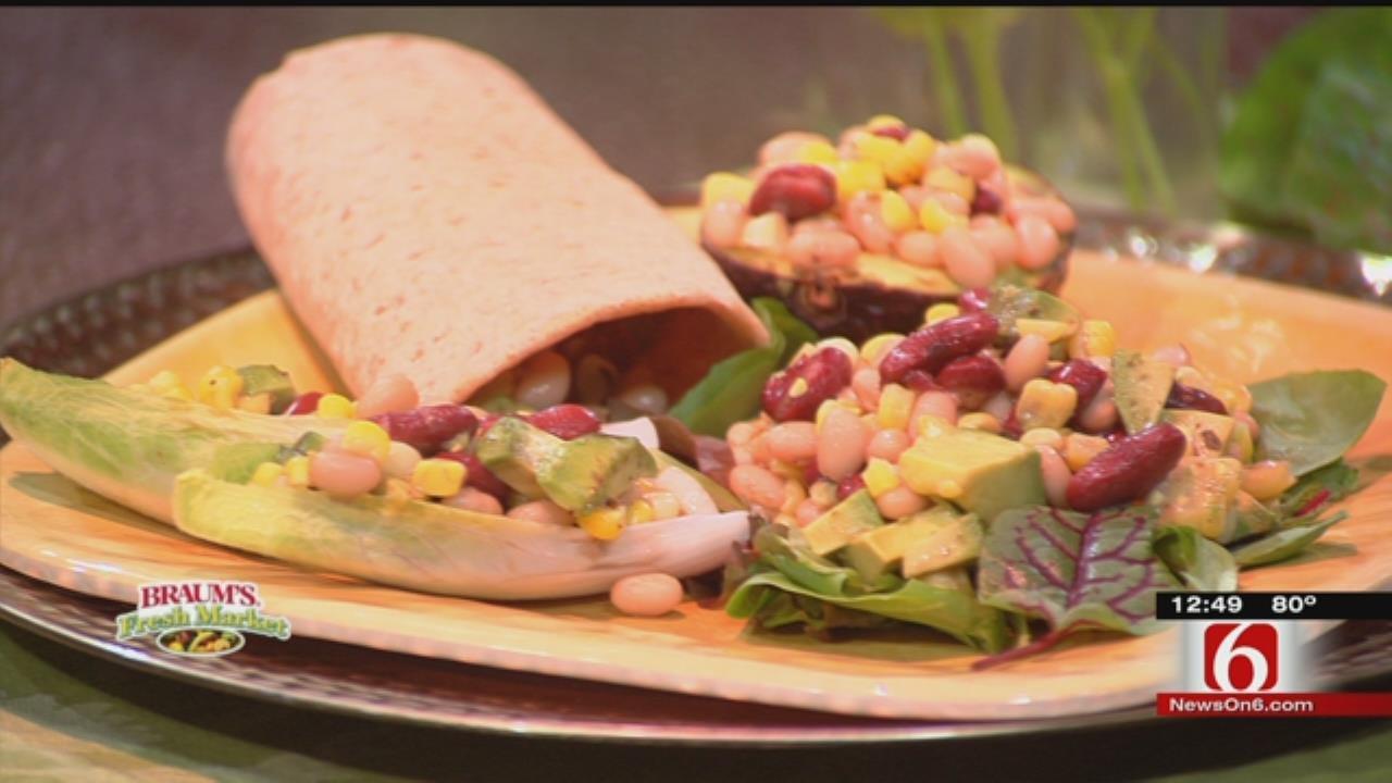 Avocado, Corn & Bean Salad