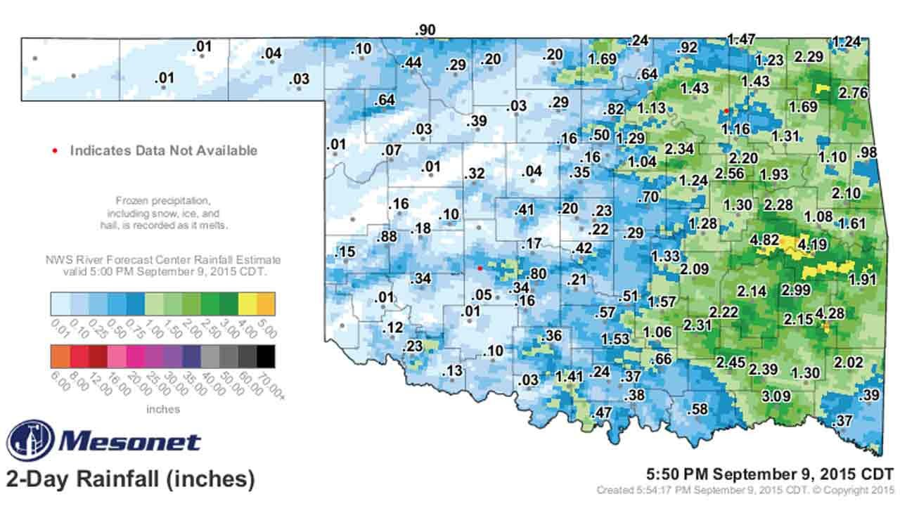 Dick Faurot's Weather Blog: Another Chance Of Rain, Then Much Cooler