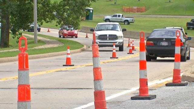 Downtown Tulsa Construction Leaves Drivers Lost