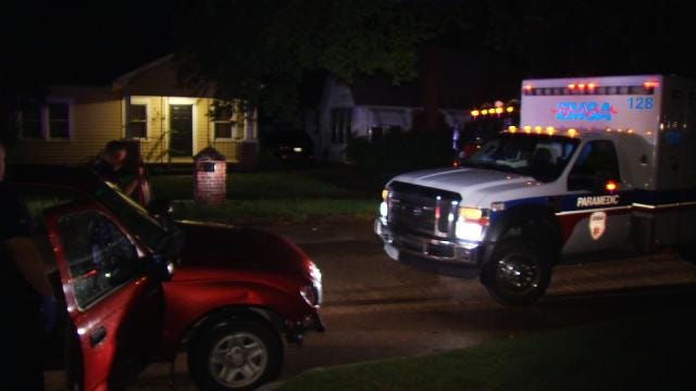 Police Arrest Two In Recovery Of Stolen Tulsa Pickup