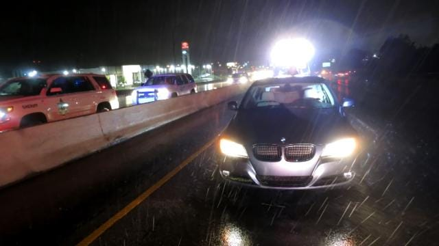Wrong-Way Driver Arrested On BA Expressway, Thanks To Alert Deputy