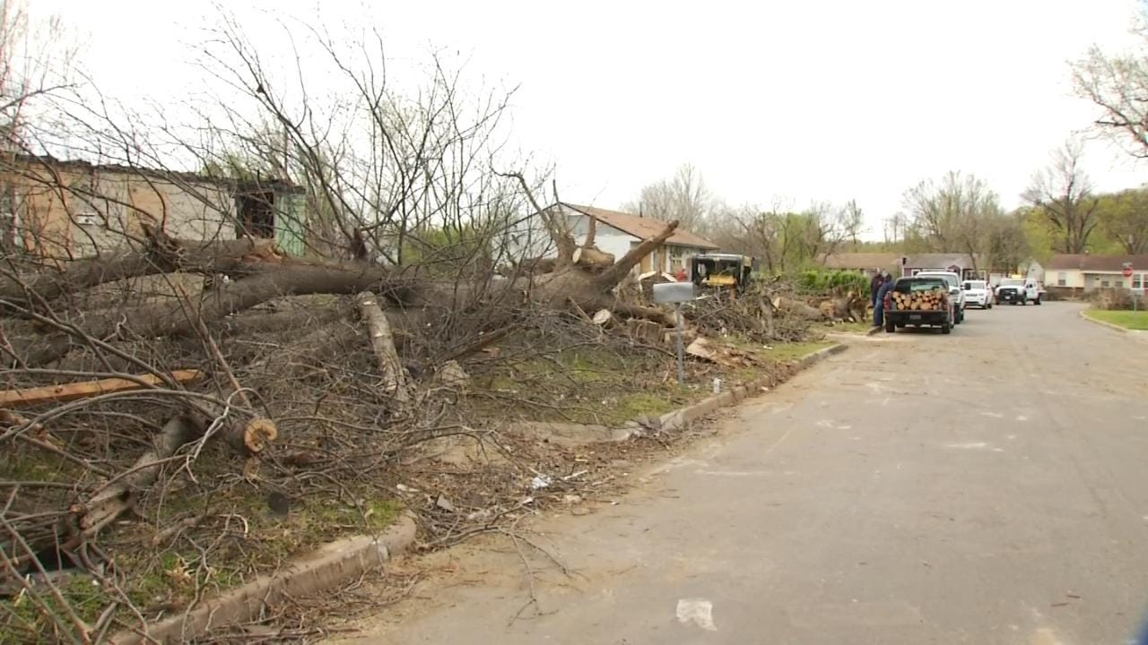 390 Structures Damaged By North Tulsa Tornado; Cleanup Continues