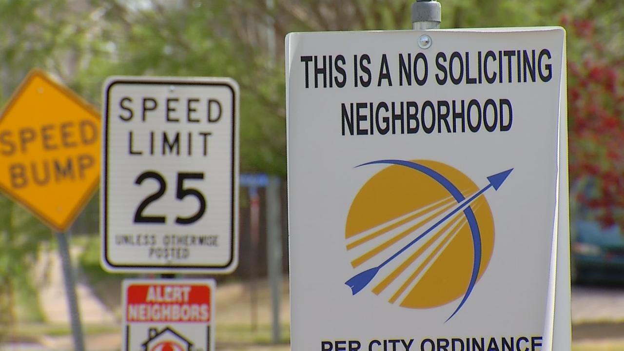 Door-To-Door Sales People Need Permit, Broken Arrow Police Say