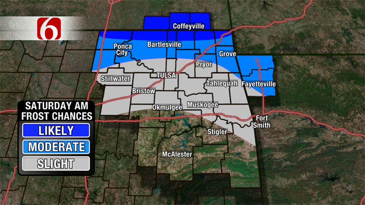 Frost Possible Tonight.