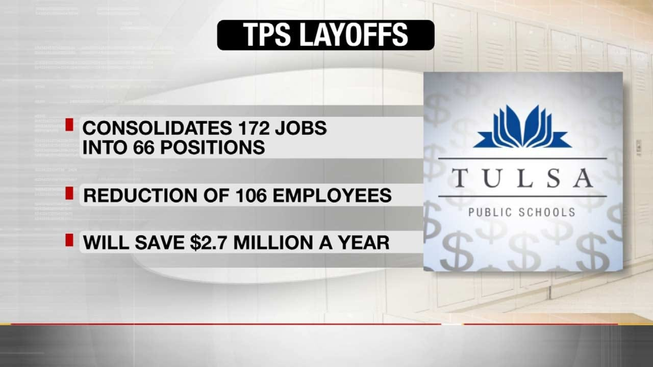 Tulsa Public Schools Recommends Reduction In Administrative Staff