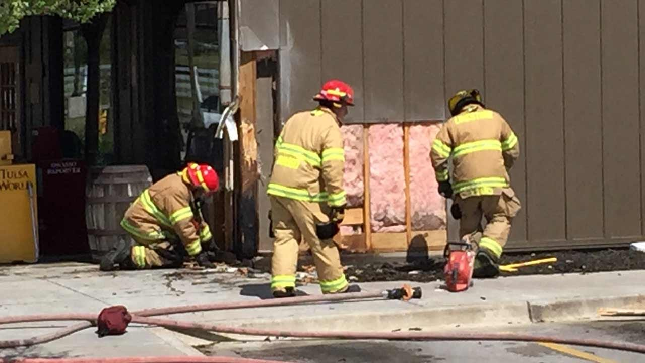 Cigarette May Have Sparked Fire At Owasso Restaurant