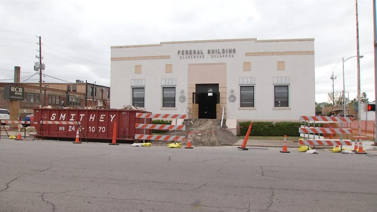 Claremore's Federal Building Being Restored To 1935 Glory