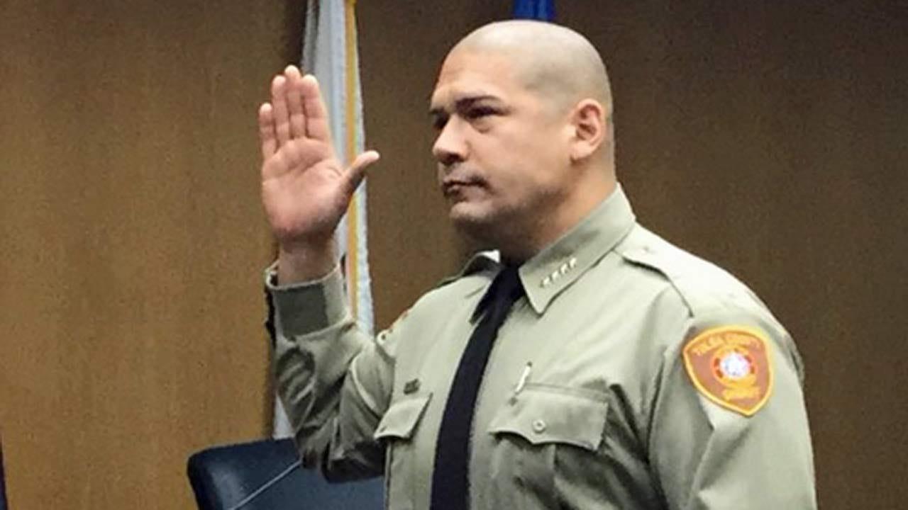 Vic Regalado Sworn In As Tulsa County Sheriff