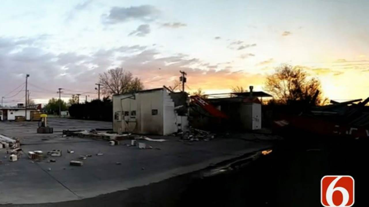 City Crews To Pick Up Storm Debris In North Tulsa