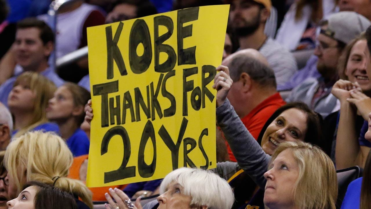 Crowd Travels From All Over To See Kobe Bryant's Final Road Game In OKC
