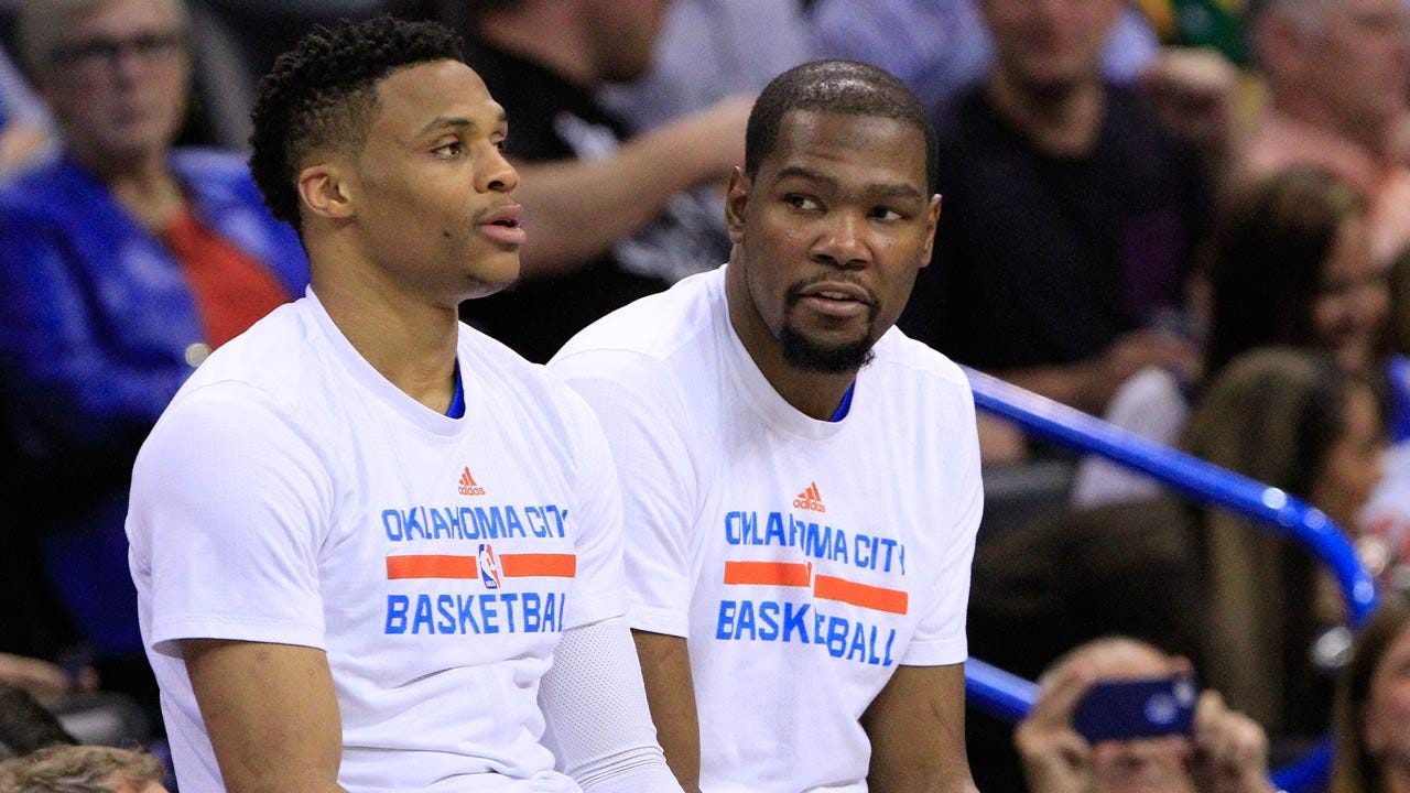 Durant, Westbrook Talk Offensive Record-Setting Season, Turning Focus To Playoffs