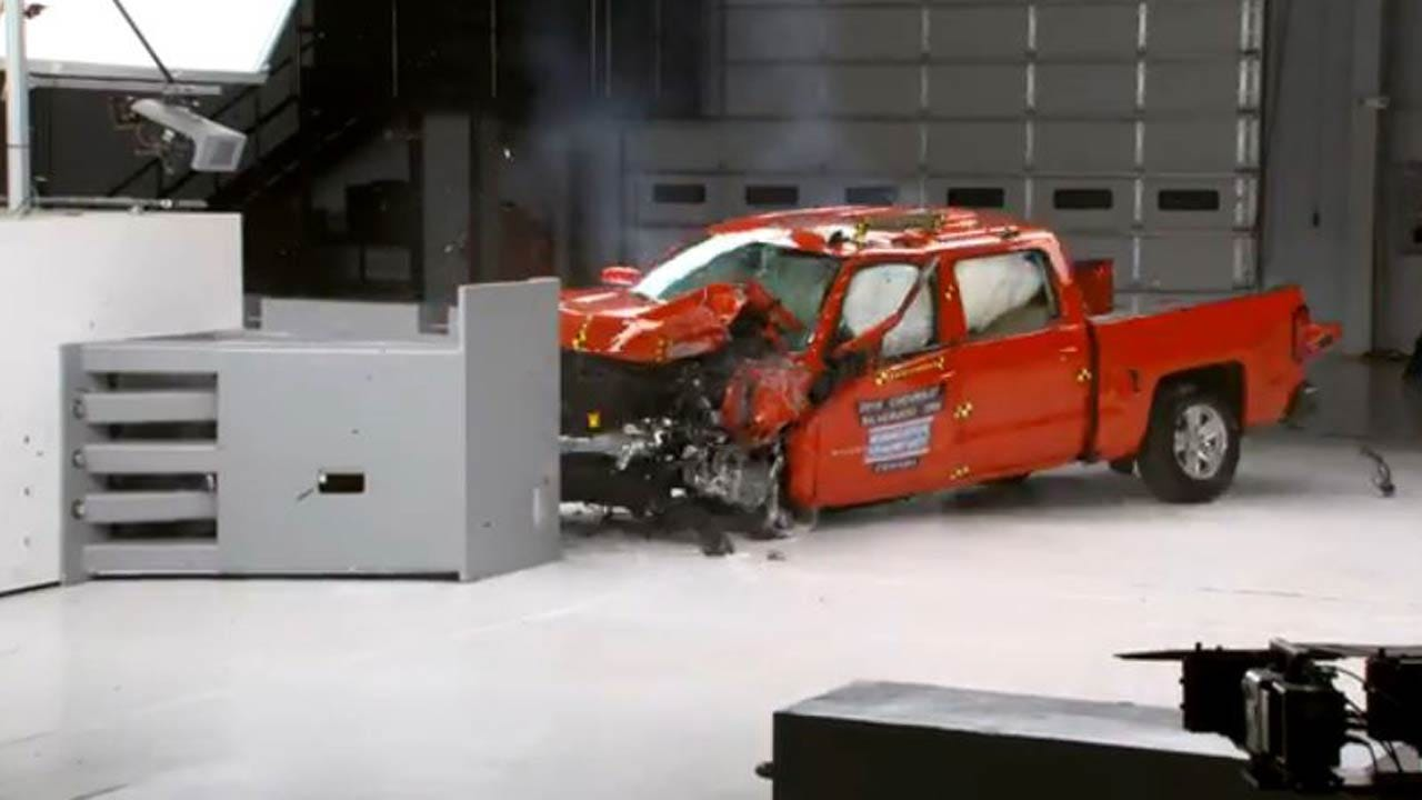 Safety Group Releases Crash Test Results For Pickup Trucks