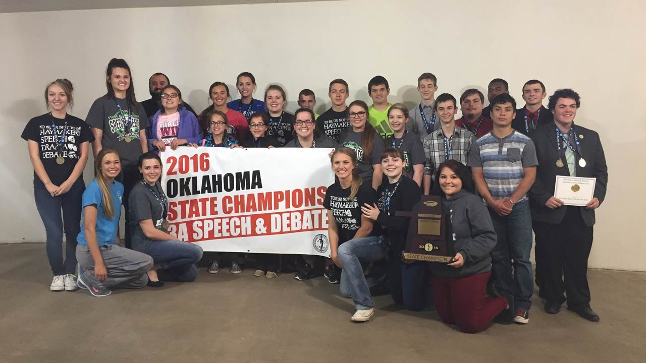 Haskell Celebrates Another State Championship For Speech, Drama, Debate