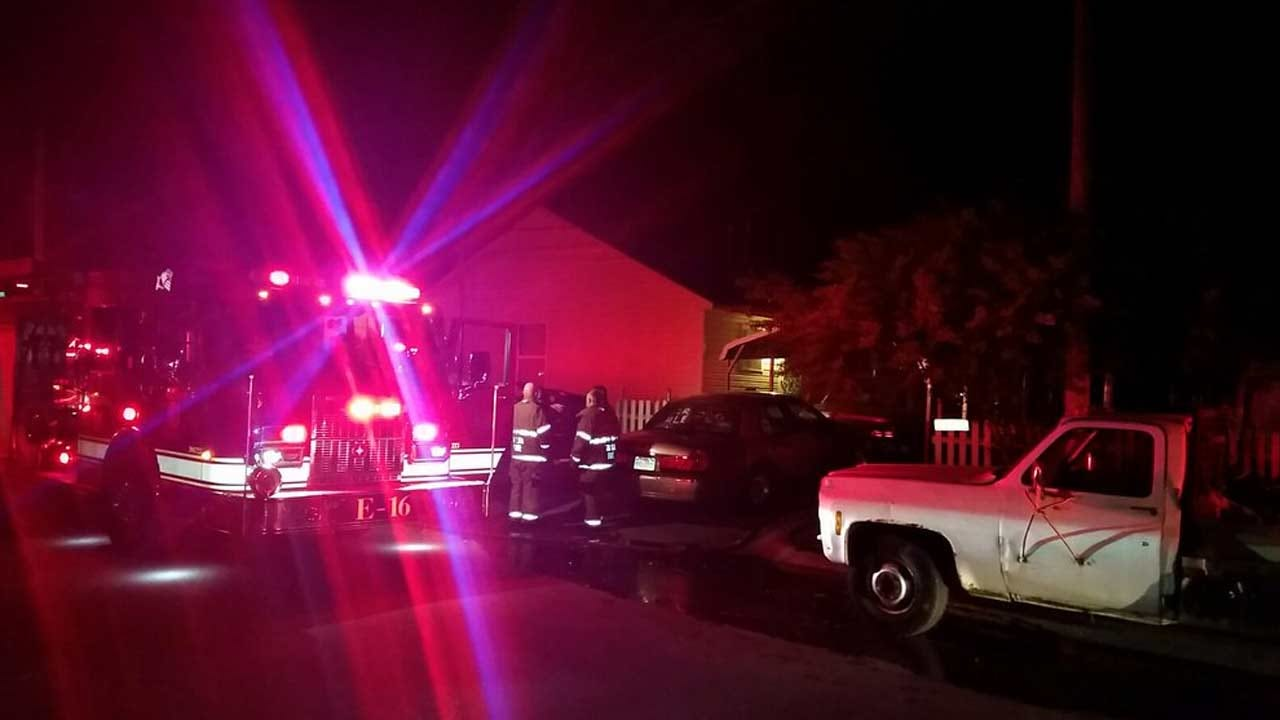 Man Burned Trying To Put Out Tulsa Fire