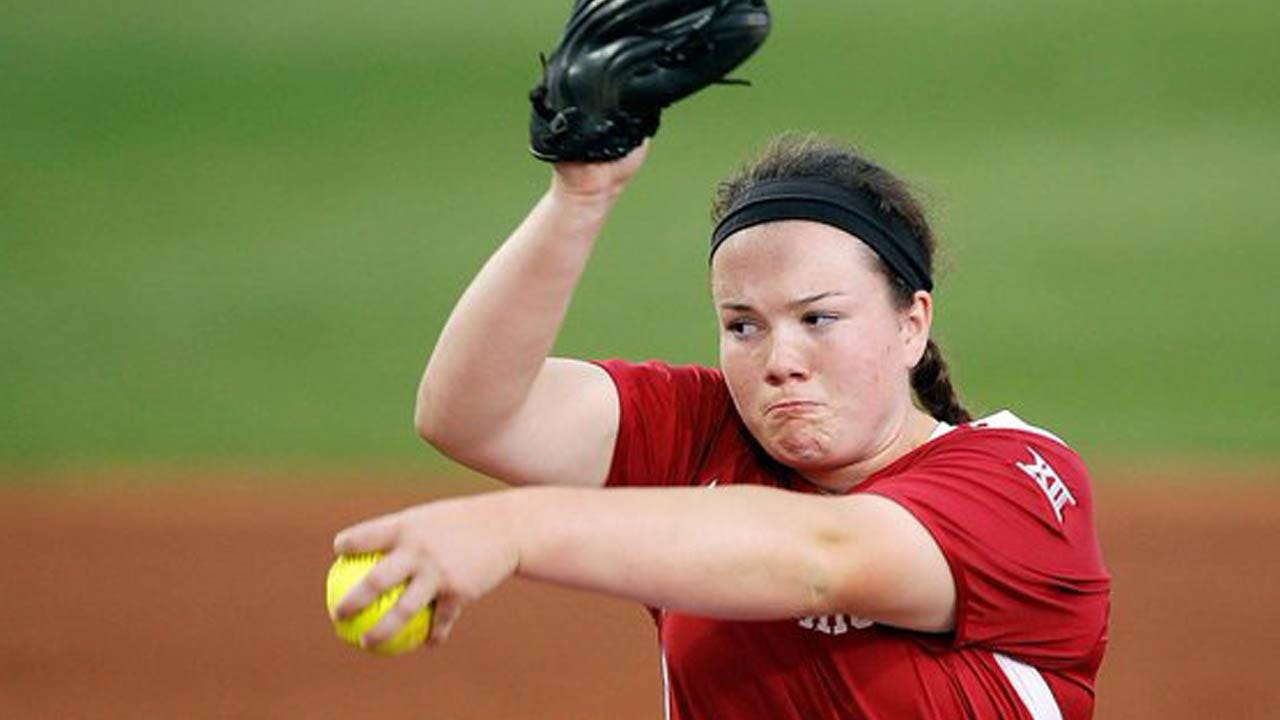 OU Softball: Paige Parker Earns Conference, National Awards