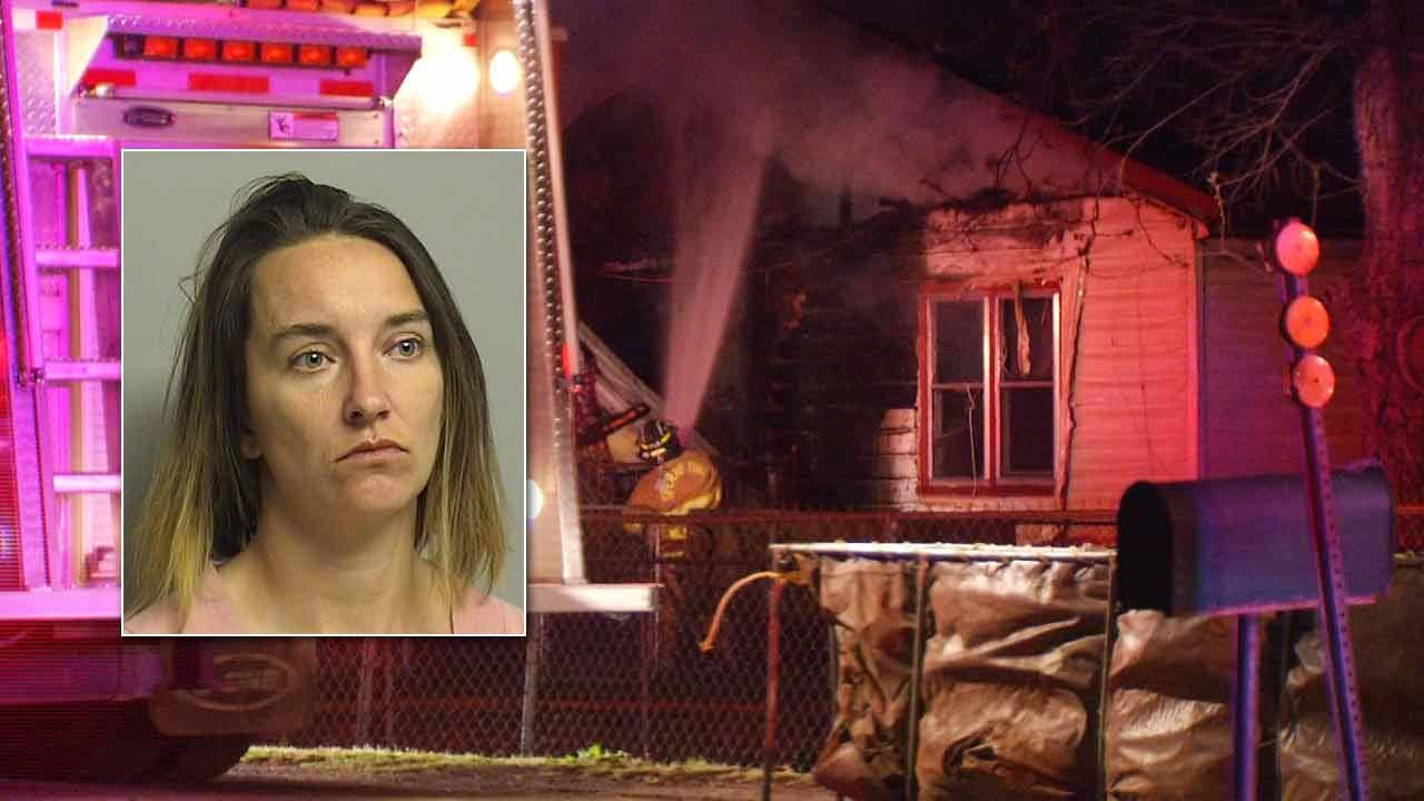 Turley Woman Arrested For Arson In Two House Fires