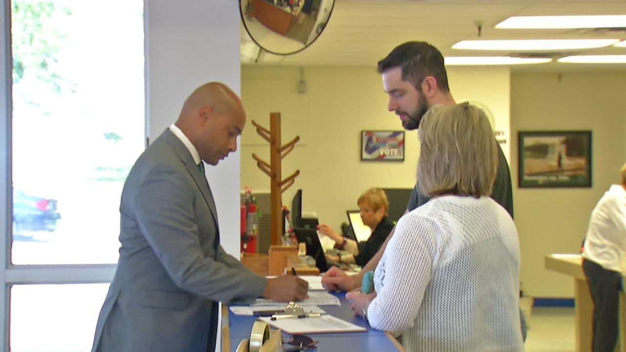 Luke Sherman Files As Tulsa County Sheriff Candidate