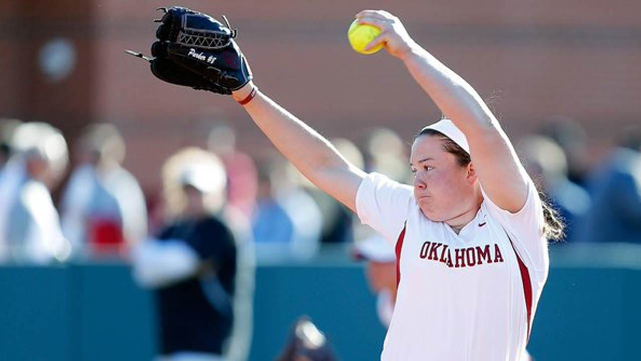 OU's Paige Parker Named Finalist For 2016 USA Softball Collegiate Player Of The Year