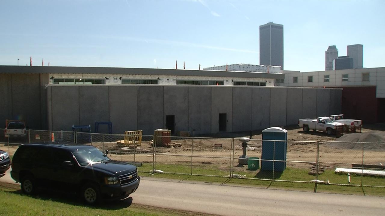 Sheriff's Office Shows Off Tulsa County Jail Expansion