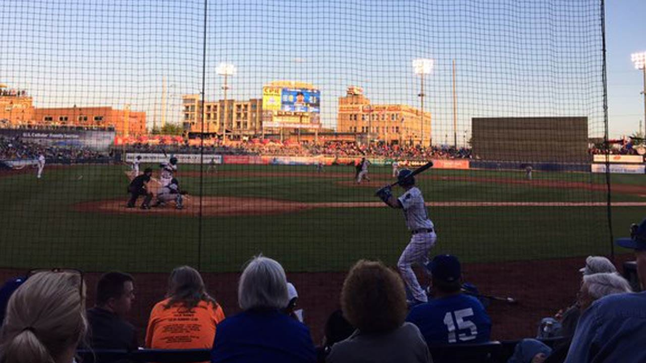 Drillers Bring In Record Crowd, Fall In Home Opener