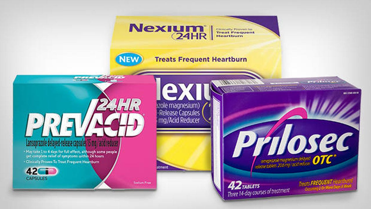 Study: Common Heartburn Drugs May Lead To Kidney Damage