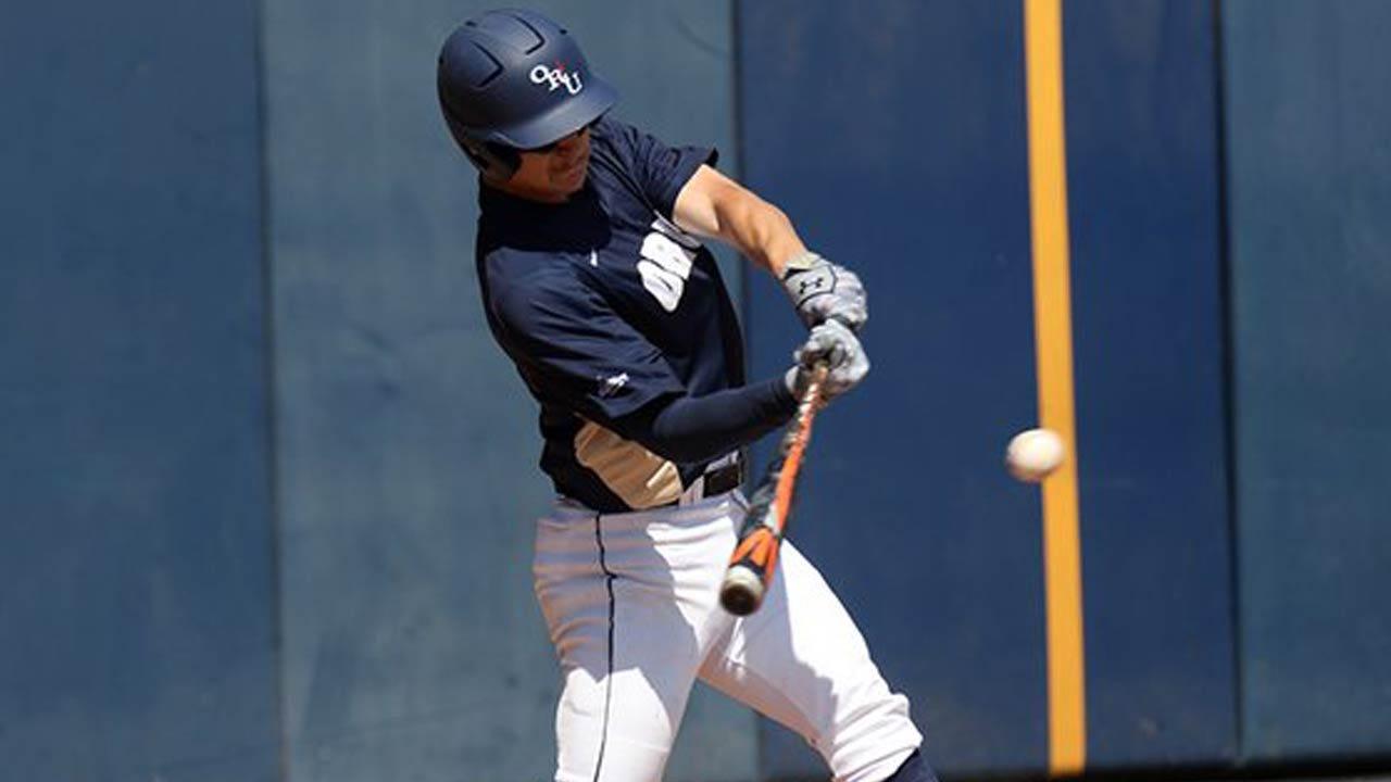ORU Baseball Sweeps Omaha In Three-Game Series