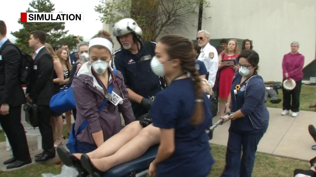ORU Nursing Students Participate In Crisis Simulation