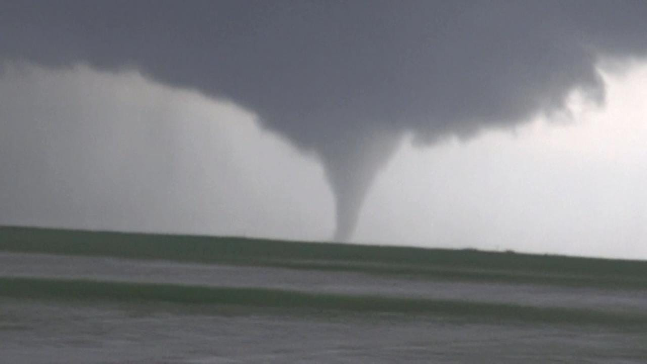 Tornadoes Touch Down In Oklahoma's Panhandle