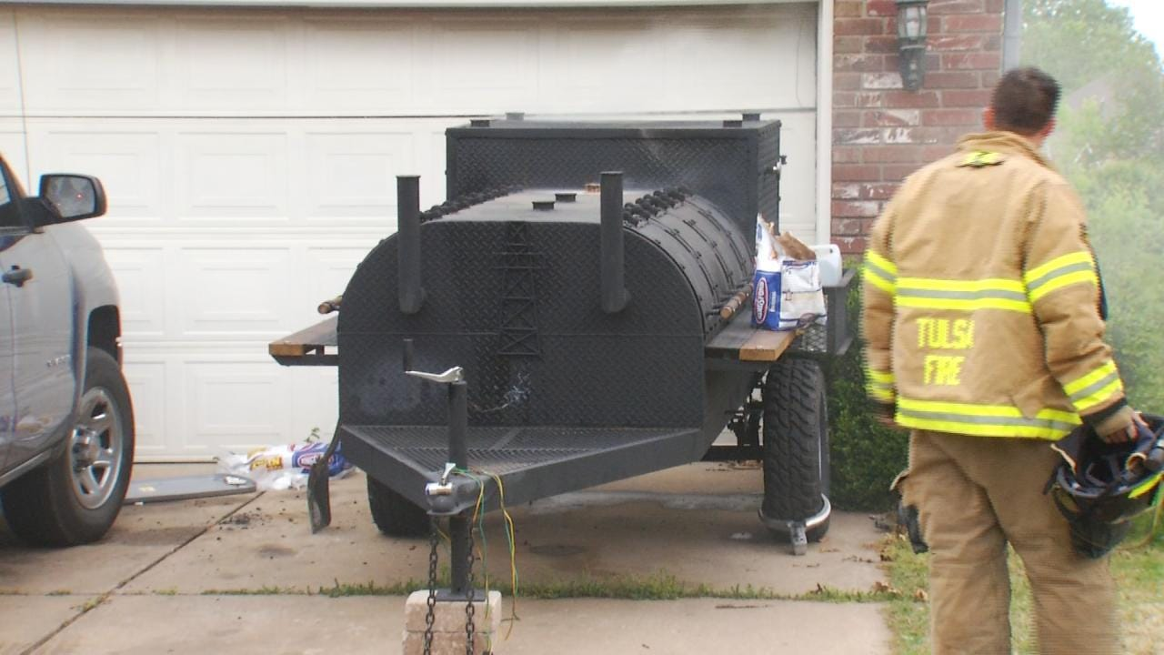 Ashes From Meat Smoker Start Tulsa House Fire, Officials Say