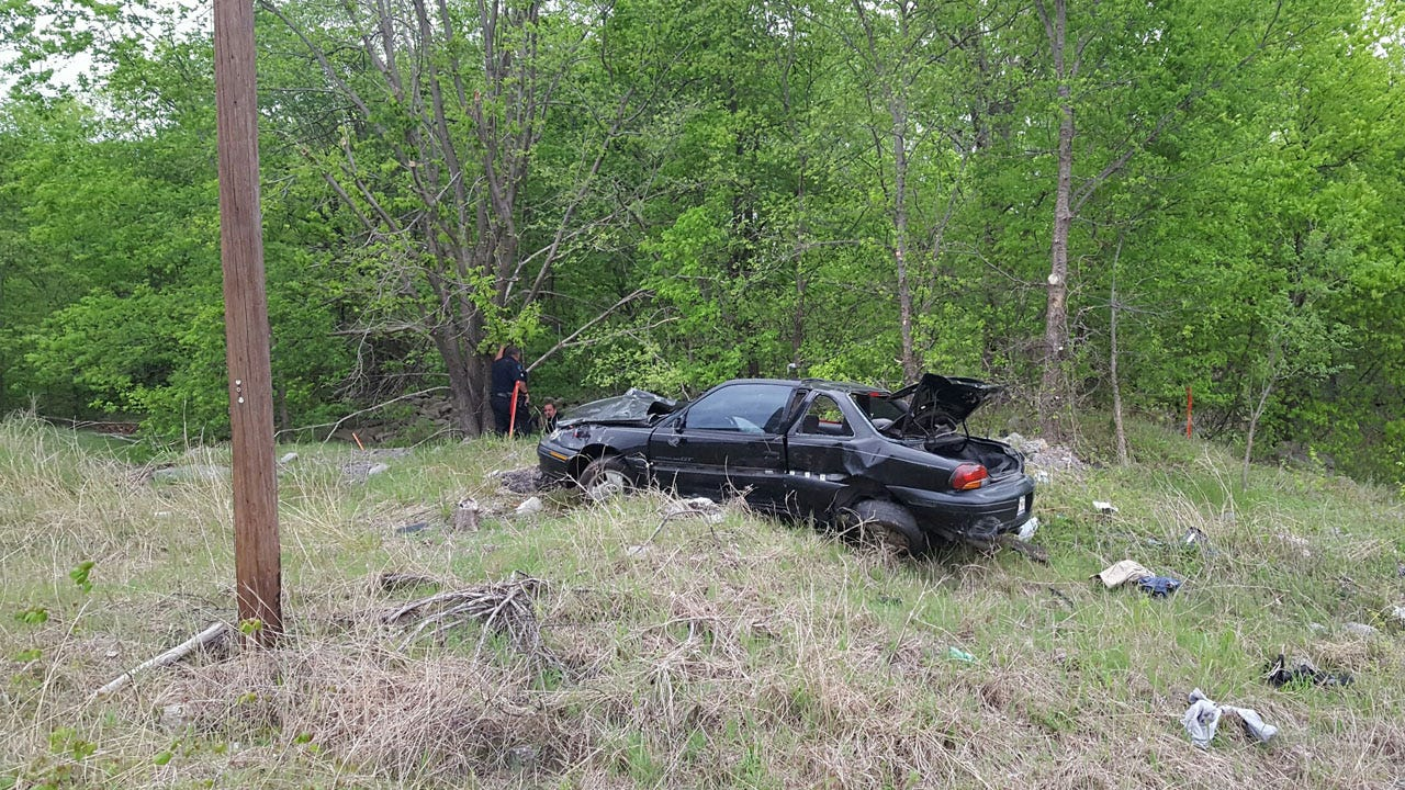 Driver Survives Being Ejected In Catoosa Rollover Crash