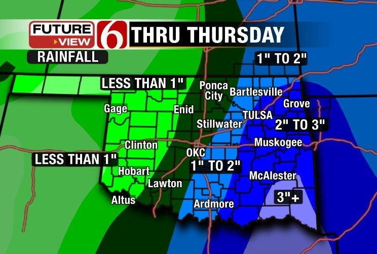 More Soaking Rainfall Expected
