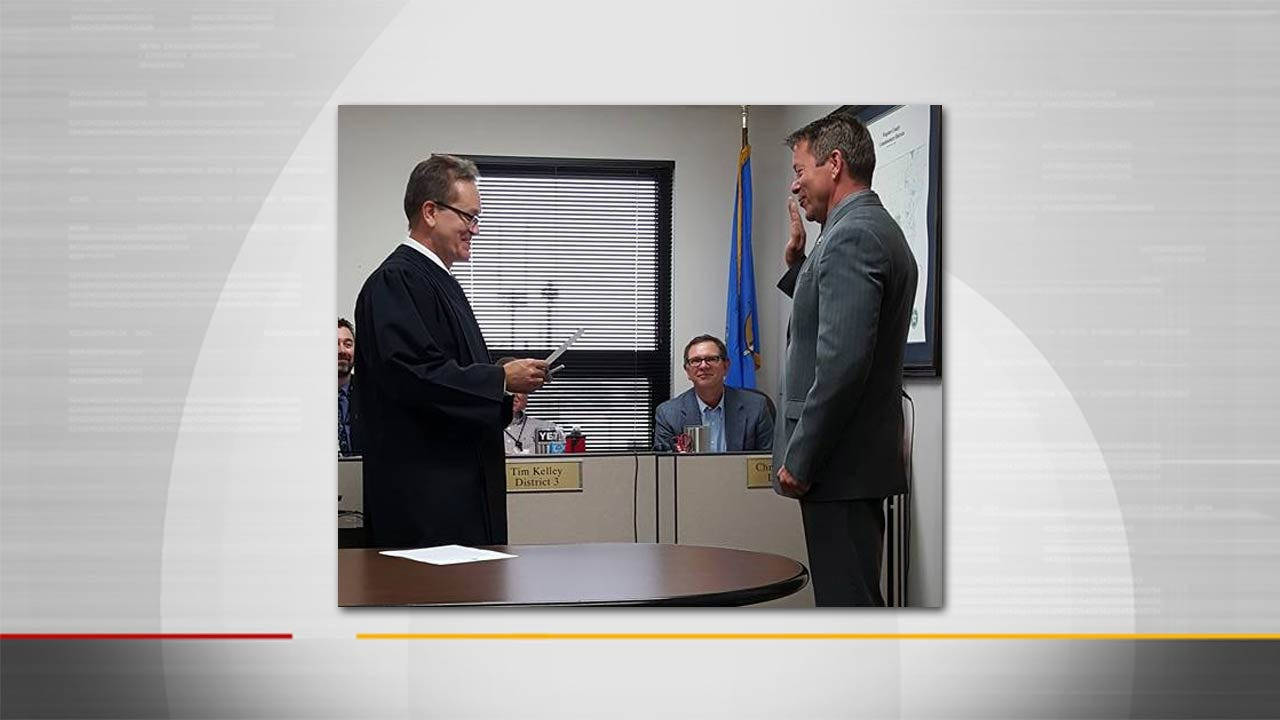 Dan David Appointed Interim Wagoner County Sheriff
