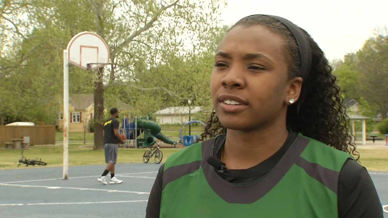 Muskogee Basketball Player Showing Skills On National Stage