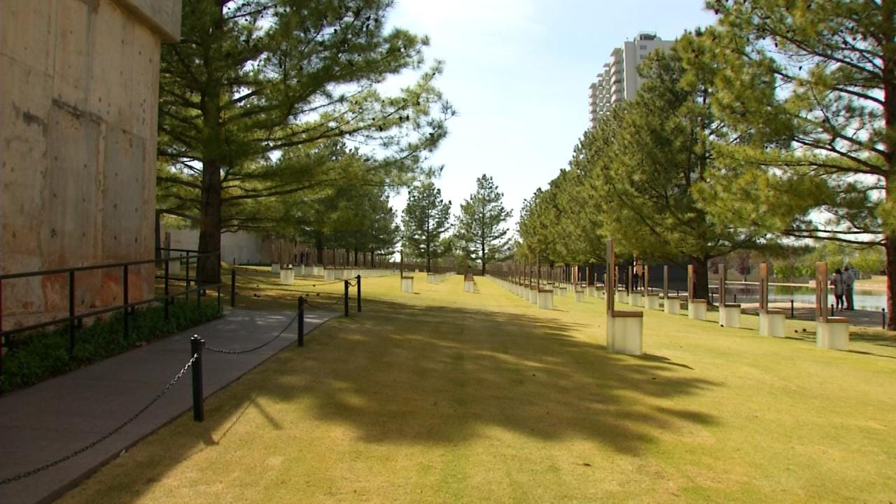 Never Forget: Victims Of Oklahoma City Bombing Honored