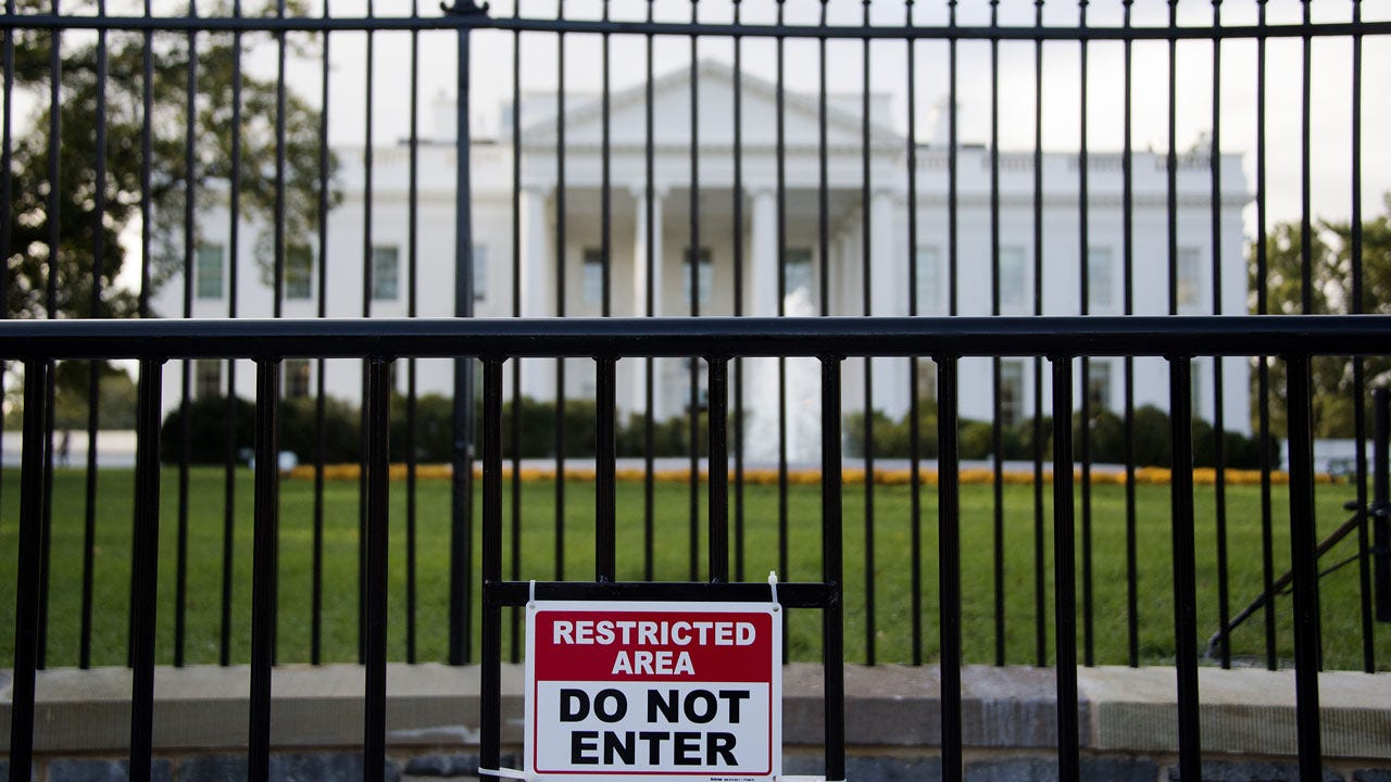 White House Fence Jumper In Custody