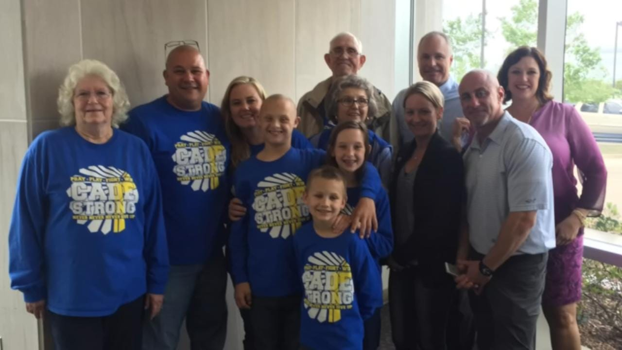 Berryhill Boy With Down Syndrome, Cancer Gets Proton Therapy