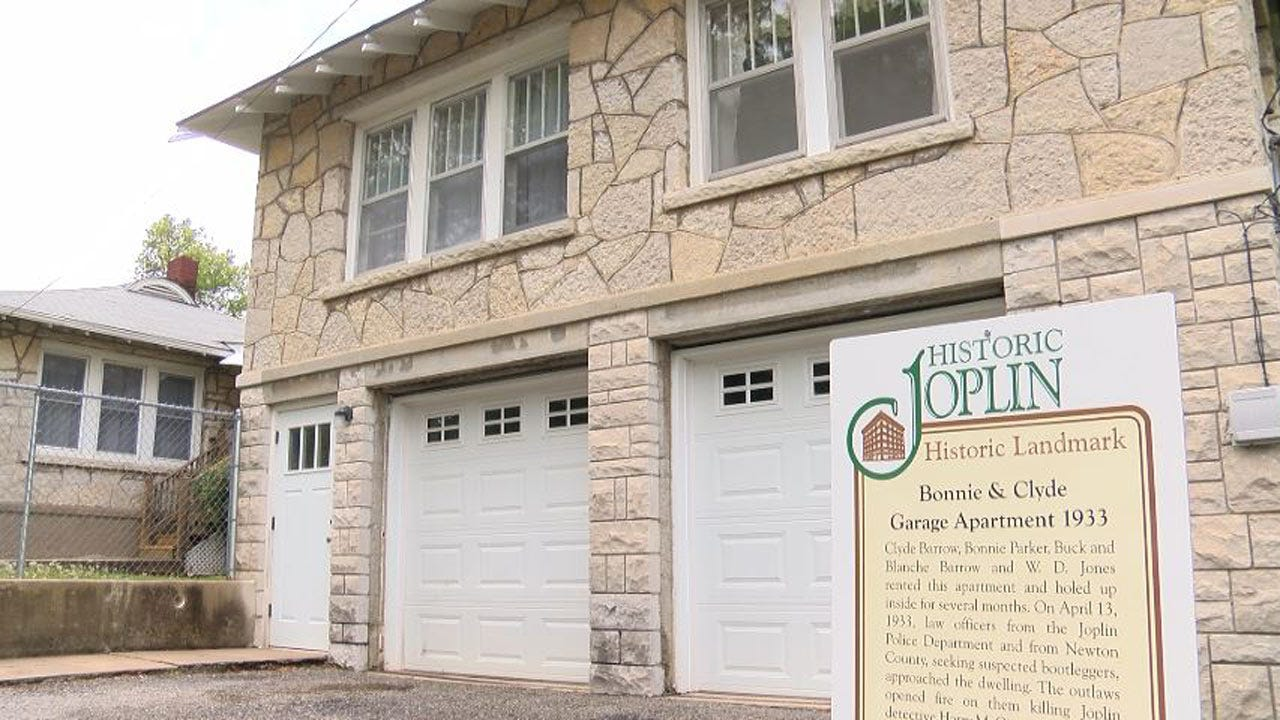 Joplin's Bonnie And Clyde Garage Apartment For Sale