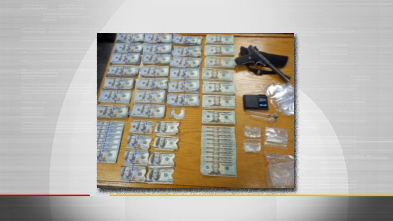 Police Find Meth, $24K In Cash During McAlester Traffic Stop