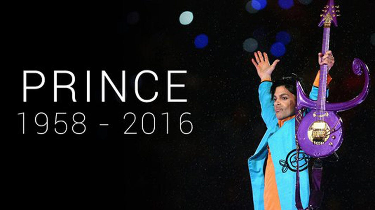 Rock Musician Prince Dead At 57