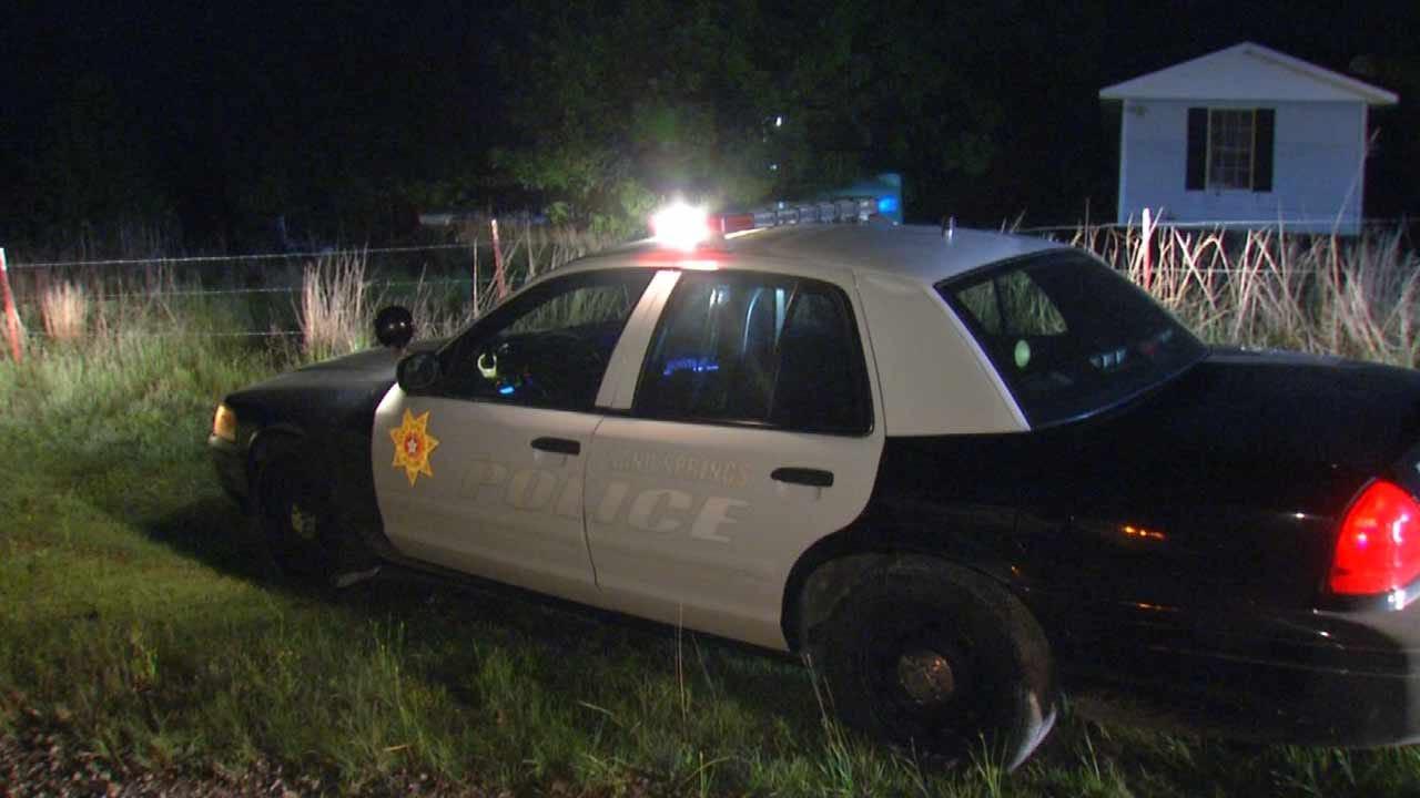 Trailer Thief Leads Sand Springs, Tulsa Police On Pursuit
